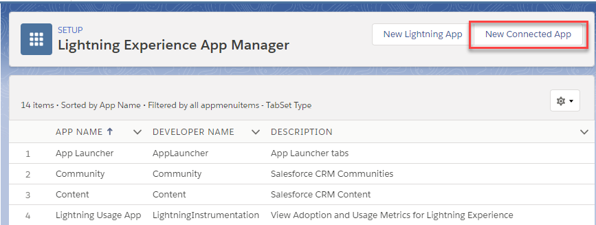 Creating a Salesforce App to get data via ODBC driver