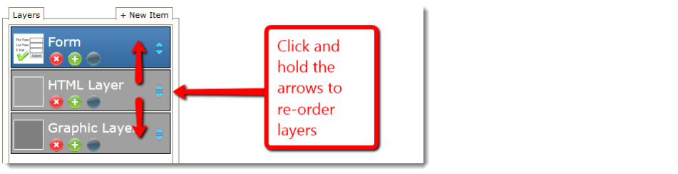 Reorder Layers
