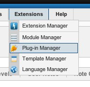 Joomla 2 - Extensions - Plugin Manager