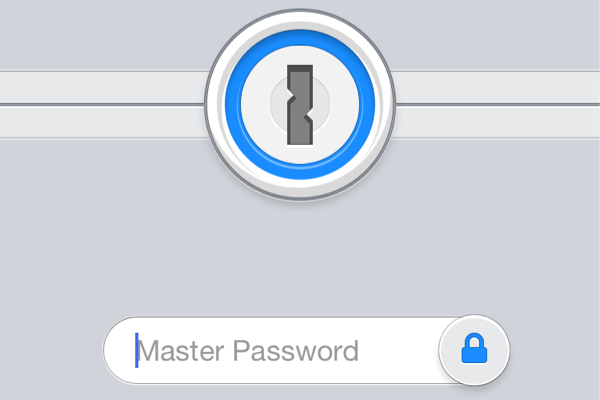 Master password input