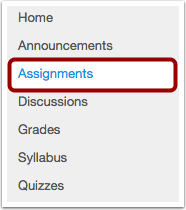 Step 1- Select the course, and then select Open Assignments .png